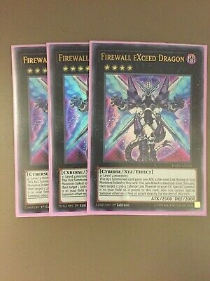 FIREWALL EXCEED DRAGON x3 | Ultra Rare | DANE-EN036 Dark Neostorm YuGiOh