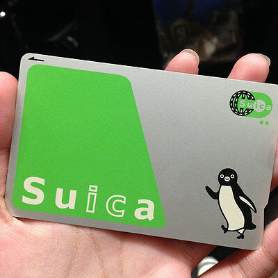 JAPANESE JR SUICA 2,000 YEN Prepaid Card for Train, Subway, Taxi, Conv. Stores