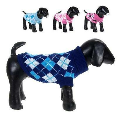 Pet Teddy Dog Cat Autumn & Winter Clothes Sweater Jumper Coat Jacket Clothing AU