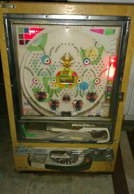 VTG PACHINKO MACHINE NISHIJIN WITH BALLS DELUXE ARCADE GAME For Restoration Only