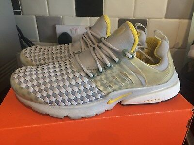 reputable site 01e8c f4898 Nike Air Presto Woven Alpha Project Vintage UK M 8-9 Retro Rare