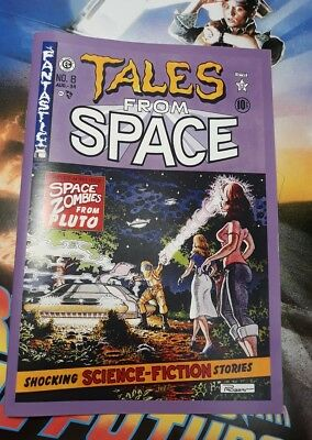 Ritorno Al Futuro Back To The Future Tales From Space Comic Book Prop Replica