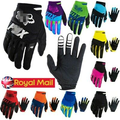 Full Finger Glove Racing Motorcycle Gloves Cycling Bicycle BMX Bike Riding Mitts