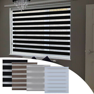Day and Night Blinds Made To Measure Zebra Vision Window Roller Blind