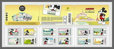 H01 France 2018 Mickey Mouse MNH Postfrisch