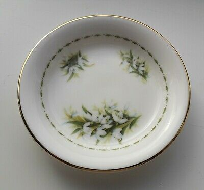 Royal Albert Flower of The Month May Lily Of The Valley Butter Pat Dish