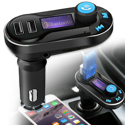 Wireless Bluetooth Car FM Transmitter MP3 Player Radio 2 USB Charger Hands-free