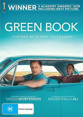 Green Book DVD Region 4 NEW // PRE-ORDER for 29/05/2019