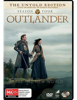 Outlander Season 4 Box Set DVD Region 4 NEW // PRE-ORDER for 29/05/2019