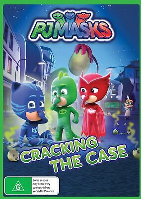 PJ Masks Cracking the Case DVD Region 4 NEW // PRE-ORDER for 29/05/2019