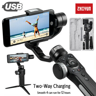 ZHIYUN Official Smooth 4 3-Axis Handheld Gimbal Stabilizer for iPhone Samsung