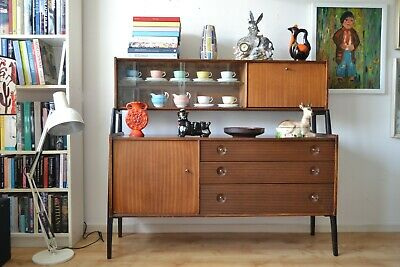 Mid Century Modern Retro Nathan Teak Sideboard/Cabinet/Room Divider. Looks Fab!