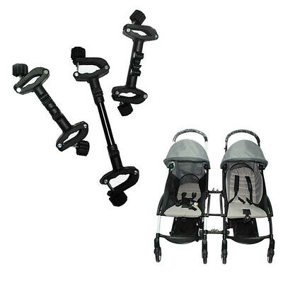 3Pcs Univesal Baby Stroller Connectors Twins Double Seat Pushchair Stroller Pad