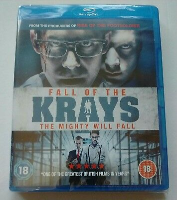 FALL OF THE KRAYS Blu-ray: Brand new and Factory sealed: *FREE P&P*