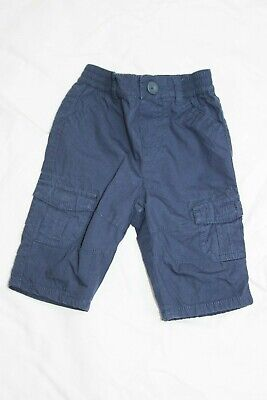 Blue Zoo Baby boys lined cotton shorts 0-3 months