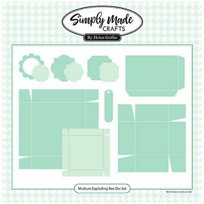 Simply Made Crafts Die Set Medium Exploding Gift Box | Set of 11