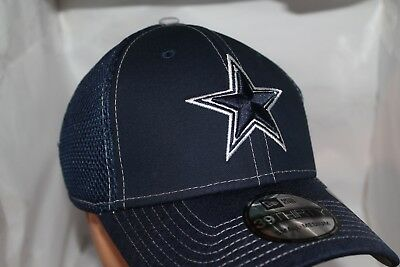 ea6633d0d DALLAS COWBOYS NEW Era 59FIFTY Black Hat Cap Multi Sizes with Logo ...