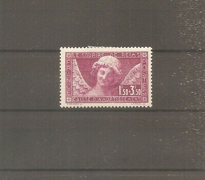 Timbre France Frankreich Ca 1930 Sourire Reims N°256 Neuf* Mh