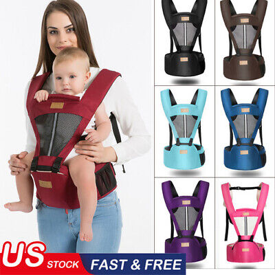 New Baby Carrier Infant Kid Baby Hipseat Sling Front Kangaroo Baby Wrap Carrier