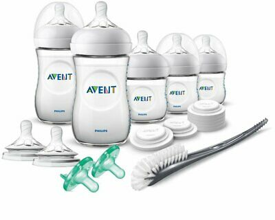 Philips Avent Natural Baby Bottle Pink Gift Set