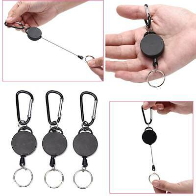 Telescopic Wire Rope Anti Lost Key Ring Keychains Retractable Gear Finder Gadget