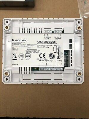 Hochiki CHQ-DRC2(SCI) Dual Relay Controller with SCI