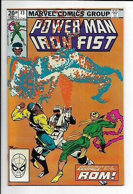 Power Man and Iron Fist #73 : Very Fine- 7.5 : Marvel Bronze Age : Rom