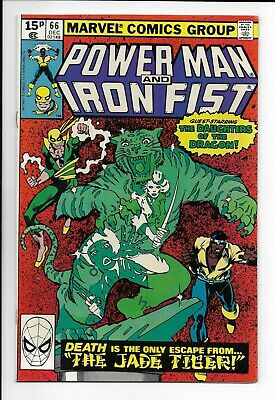 Power Man and Iron Fist #66 : Fine/Very Fine 7.0 : 2nd App Sabretooth