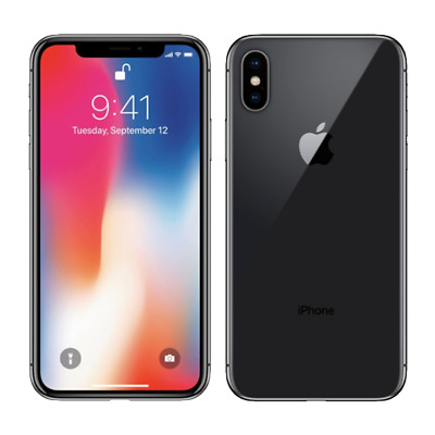 Apple iPhone X 64GB Space Gray Unlocked Good Condition