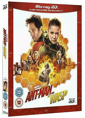 Ant-Man and the Wasp [Blu-ray+ 3D] New and Factory Sealed!!