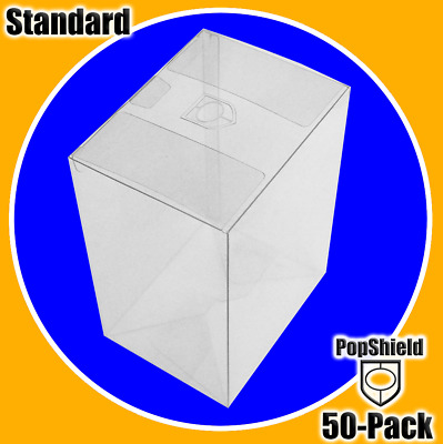 Funko Pop! PopShield Protectors 50-Count (FREE SHIPPING IN U.S.) .45mm thick & s