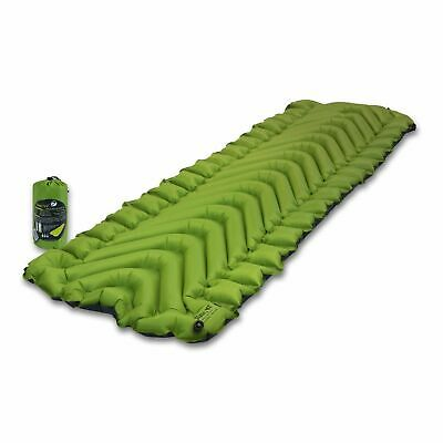 New KLYMIT Static V2 Sleeping Camping Pad GREEN Lightweight