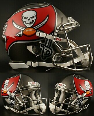 71199e955 TAMPA BAY BUCCANEERS NFL Riddell SPEED Full Size Authentic Football Helmet