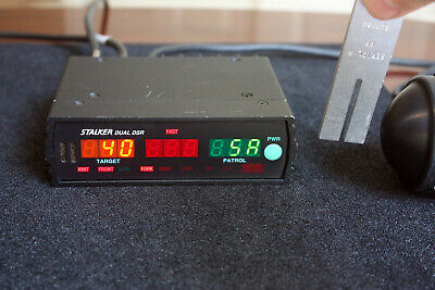 Stalker Dual DSR Display & Counting Unit - 34.7 GHz Radar KA Band