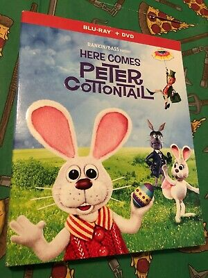 Here Comes Peter Cottontail (Blu-Ray + DVD, 2019) *NEW w/ Slipcover*