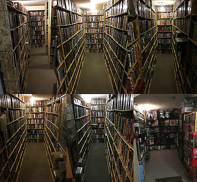 20,623 Movies! World's Largest Collection.4K/Blu-ray/DVD/3D/Criterion/OOP/Rare