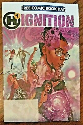 Ignition 1 We Are Heroes free comic book day issue FCBD 2019 Humanoids Mark Waid