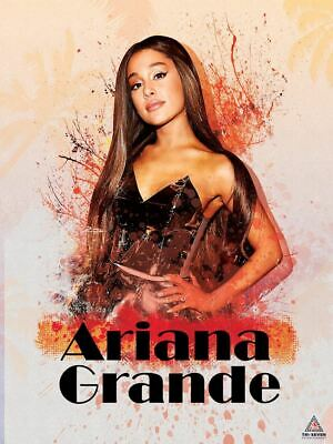 FLORAL PATTERN ARIANA GRANDE MUSIC POSTER 22x34-15856