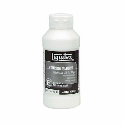 LIQUITEX COLART  POURING MEDIUM 8 OZ art canvas new free shipping