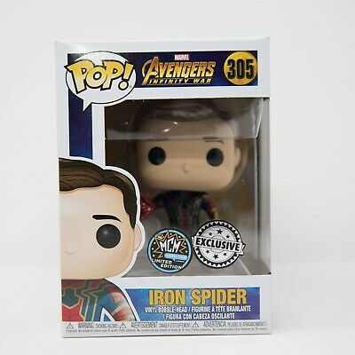 Funko Pop Marvel Avengers Infinity War Iron Spider #305 MCM Comic Con Exclusive