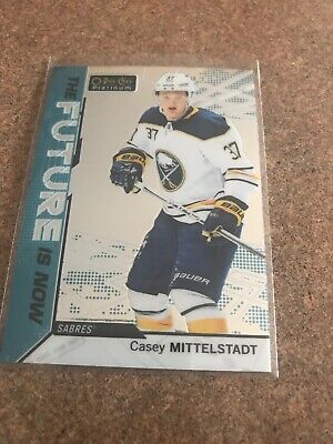 2018-19 O-Pee-Chee Platinum Casey Mittelstadt The Future Is Now # FN-11 (18-19)