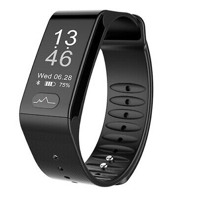 Smart band T6 activity tracker fitness cardiofrequenzimetro pressione sanguigna