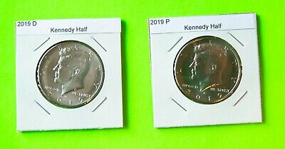2019 PD  Kennedy Half 2 coin set from Mint Bags - Free Shipping