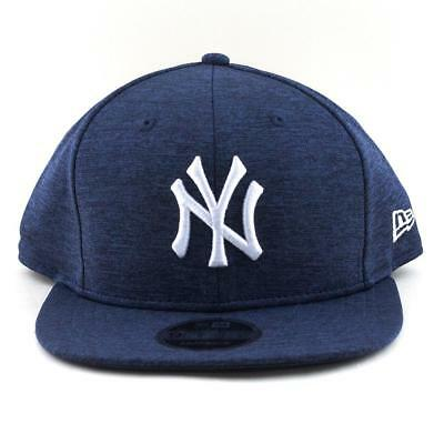 New York Yankees New Era Cap NBA 9Fifty Flat Brim Hat In Tech Navy