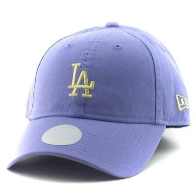 Ladies LA Dodgers New Era MLB Team 9Twenty Hat Baseball Cap In Purple
