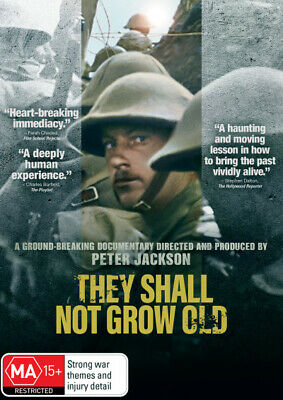 They Shall Not Grow Old  - DVD - NEW Region 4