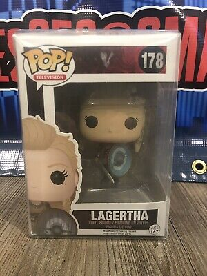 Funko Pop Television Vikings Lagertha #178 Vaulted Rare w/ Protector