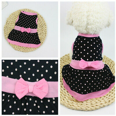 New 2019 Hot Casual Pet Puppy Skirt Apparel Spring Summer Dog Dress Clothes