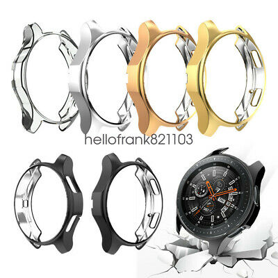 2Pack Soft TPU Protector Watch Case Cover For Samsung Galaxy Watch 42mm 46mm