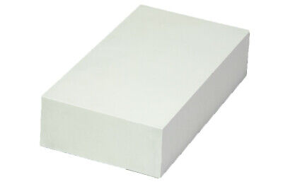 "Plastic Sheet Machine Grade (White) - 2"" x 6"" x 12"" - ABS"